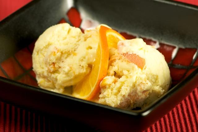 Апельсиновое мороженое в домашних условиях рецепт