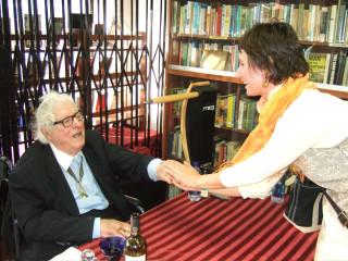 Ray Bradbury, November 2008