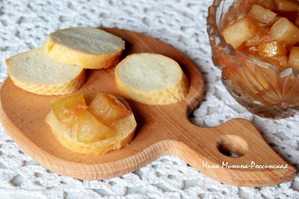 варенье яблочное с корицей Минина-Россинская