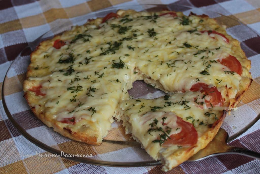 куриная пицца целая