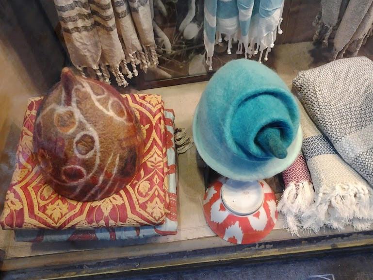 шапочка для бани