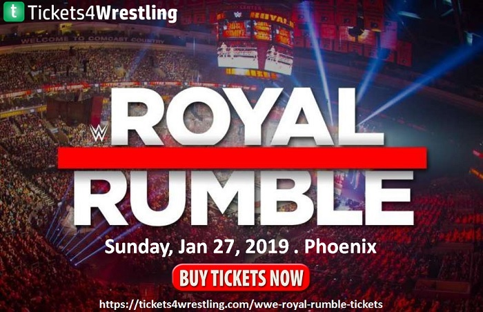 WWE Annual Royal Rumble 2019 Tickets