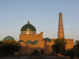 Khiva at sunset