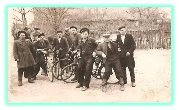 молодёжь деревни