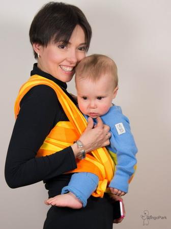 BEBINA Karo (gelb-orange)