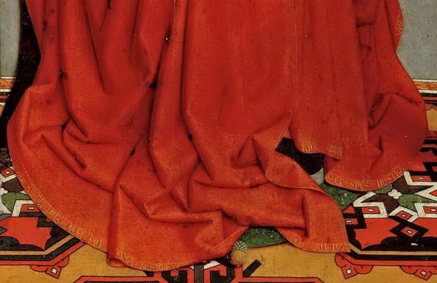 Давид, Герард (ок1460 Аудеватер - 1523 Брюгге) -- Триптих семьи Седано, открытый Деталь  2..jpg