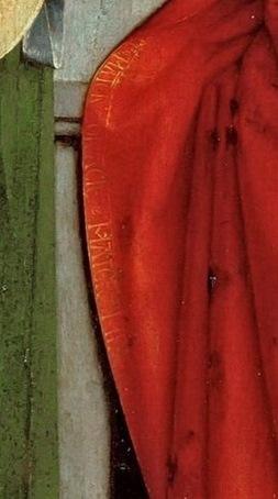 Давид, Герард (ок1460 Аудеватер - 1523 Брюгге) -- Триптих семьи Седано, открытый. Деталь 1..jpg