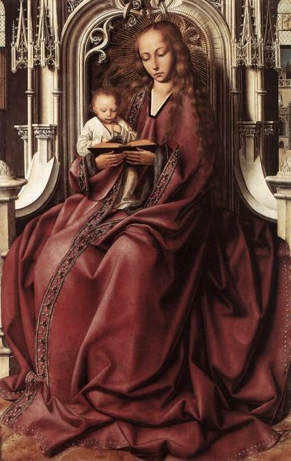 Квентин Массейс Мадонна с младенцем 1495г.jpg
