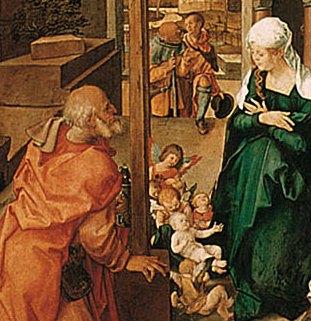 Альбрехт Дюрер Алтарь Паумгартнера 1500-1504 Деталь 1.jpg