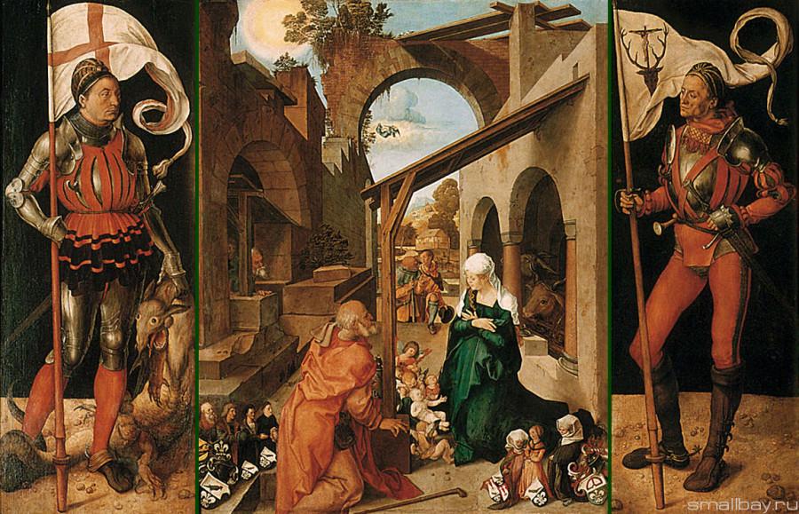 Альбрехт Дюрер Алтарь Паумгартнера 1500-1504.jpg