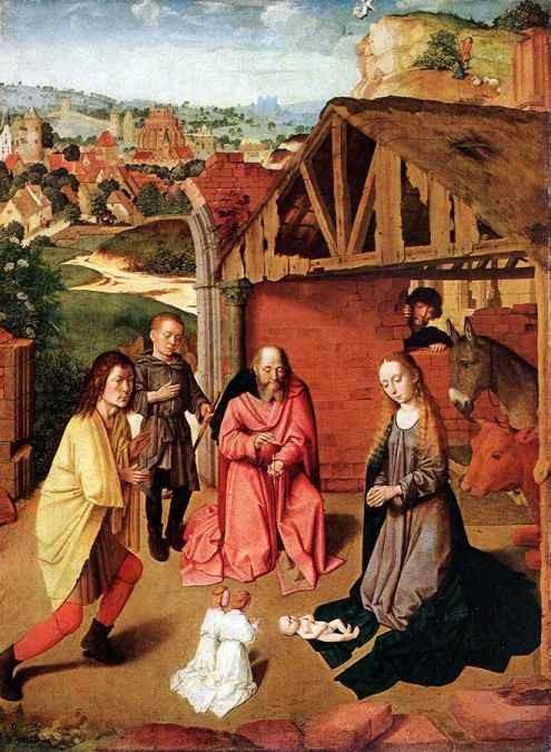 Герард Давид Рождество христово 1490.jpg