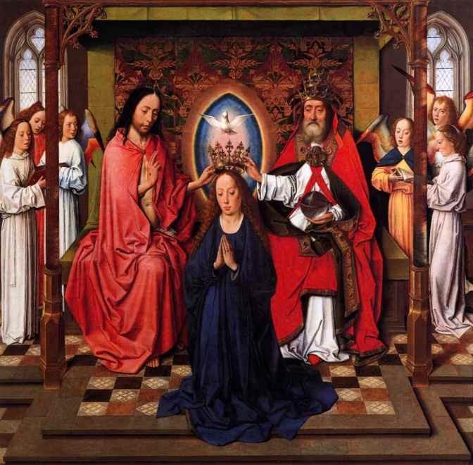 Дирк Баутс Коронование богородицы-1450.jpg