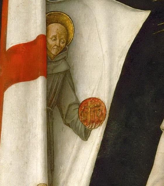 Виварини, Бартоломео (Мурано ок1440 - ок1499) -- Святой Иоанн Капистран деталь 1.jpg
