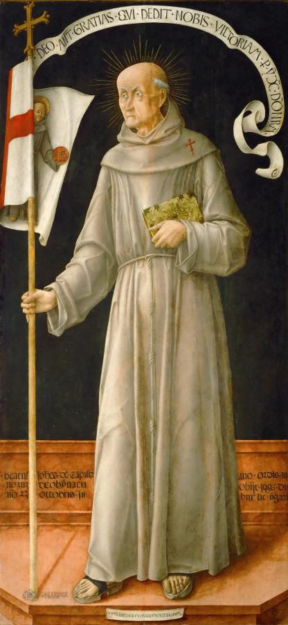Виварини, Бартоломео (Мурано ок1440 - ок1499) -- Святой Иоанн Капистран.jpg