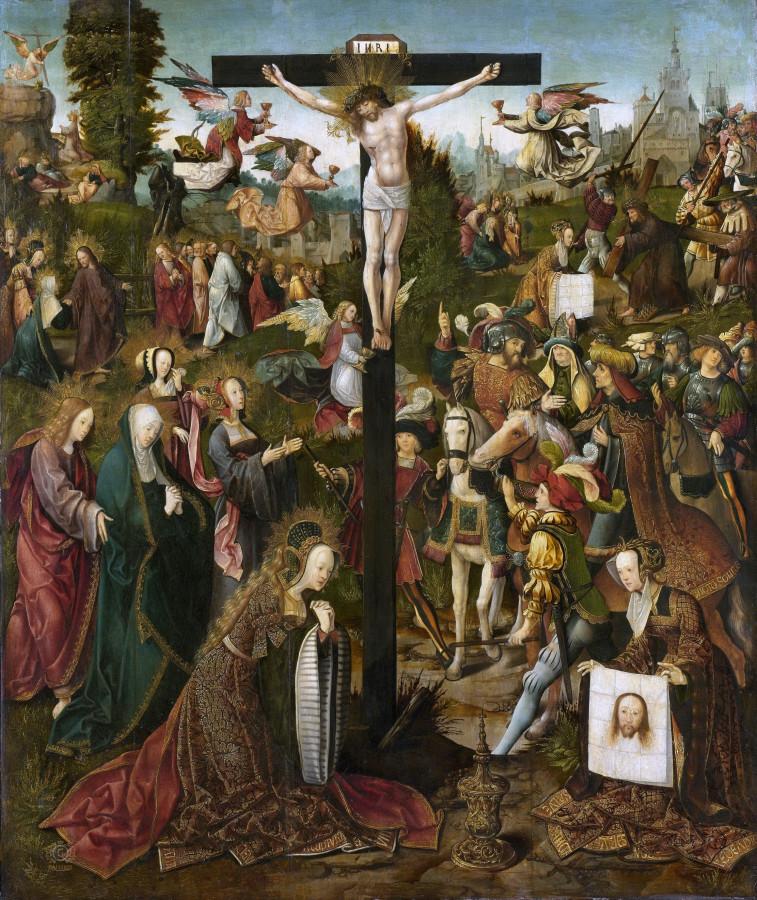 Cornelisz. van Oostsanen, Jacob -- De kruisiging, 1507-1510.jpg