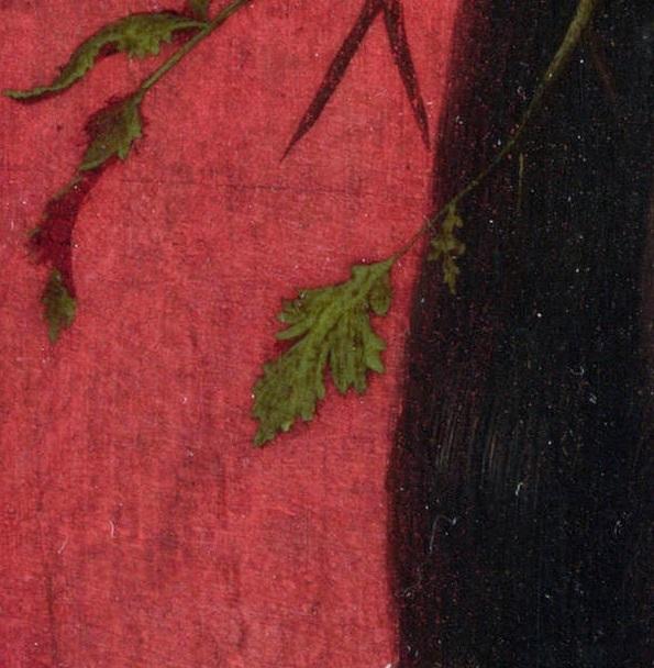 Ян Мостарт (манера) - Христос в терновом венце деталь 1..jpg