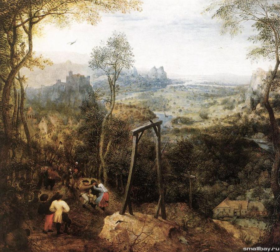 Питер Брейгель Сорока на виселице 1568.jpg