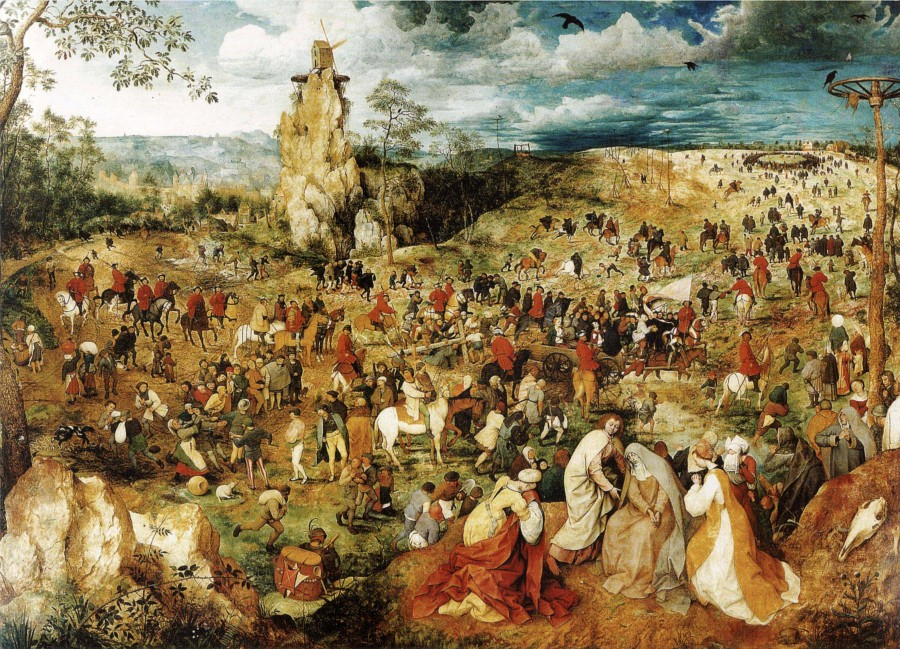 Питер Брейгель Путь на Голгофу 1564.jpg