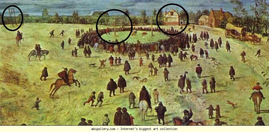 Питер Брейгель Путь на Голгофу 1564 деталь 1.JPG