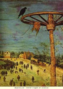 Питер Брейгель Путь на Голгофу 1564 деталь2.JPG