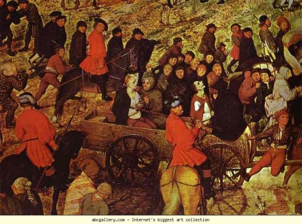 Питер Брейгель Путь на Голгофу 1564 деталь5.JPG