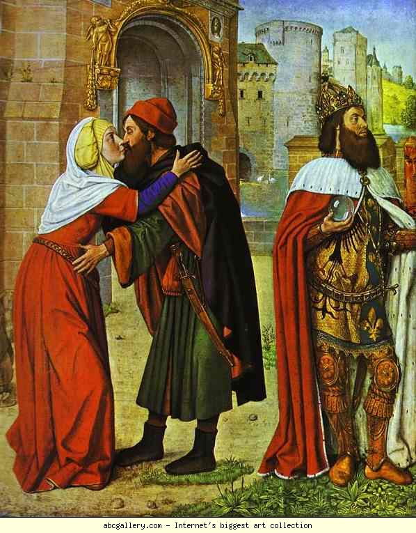 Jean Hey. Meeting at the Golden Gate. c.1488.jpg