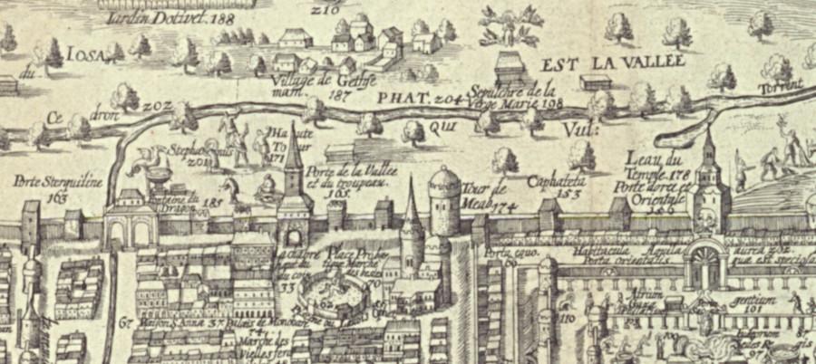 Золотые ворота и башня Меаб 1690г.jpg