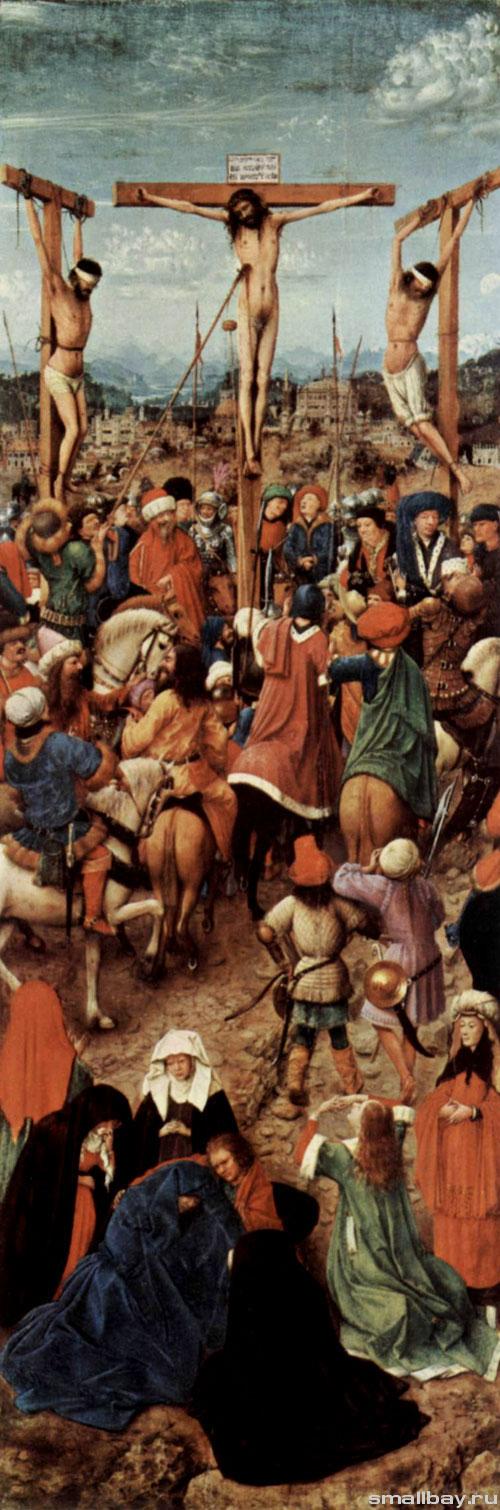 Ян ван Эйк Распятие 1420-е..jpg
