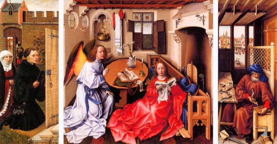 Робер Кампен Алтарь Мероде 1427.jpg