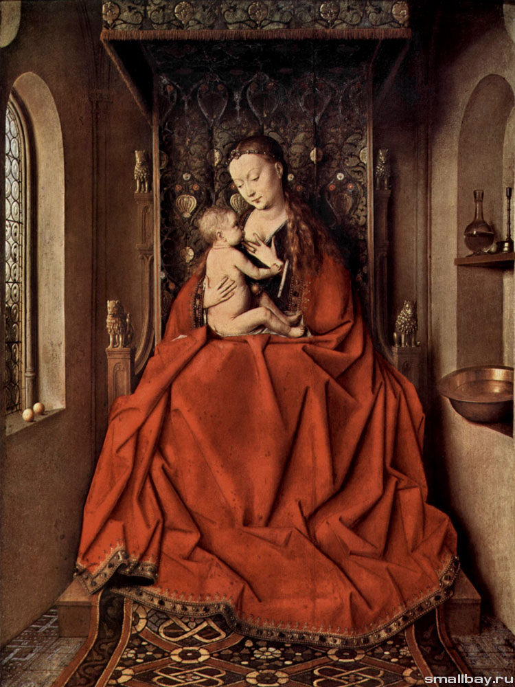 Ян ван Эйк Луккская Мадонна 1430..jpg