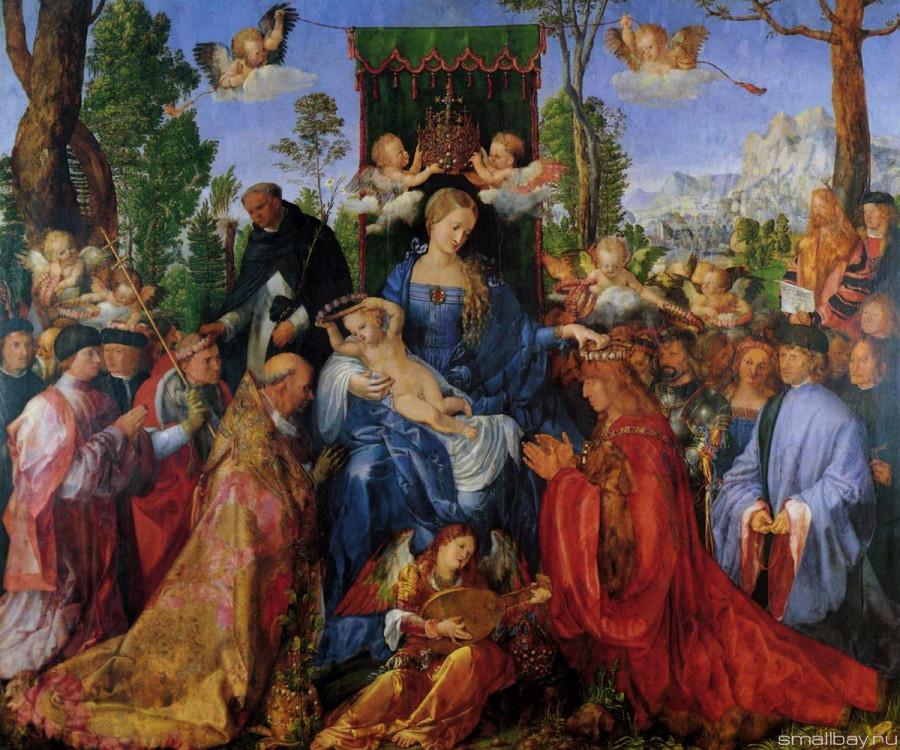 Альбрехт Дюрер Праздник четок 1506.jpg