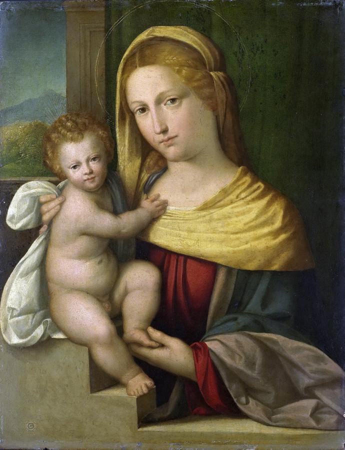 Garofalo, Benvenuto Tisi da -- Maria met kind, 1515-1540.jpg