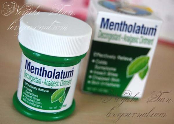 Mentholatum Medication Decongestant – Analgesic Ointment