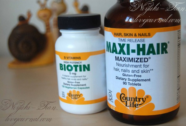Country Life, Gluten Free, Maxi-Hair Biotin