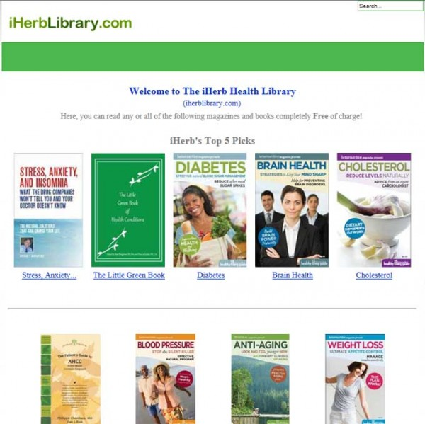 The iHerb Health Library