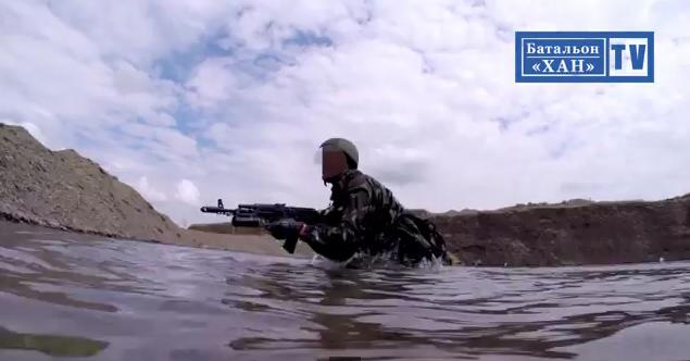 «Вот как мы делаем в батальоне «Хан», детка!» — видео с тренировок
