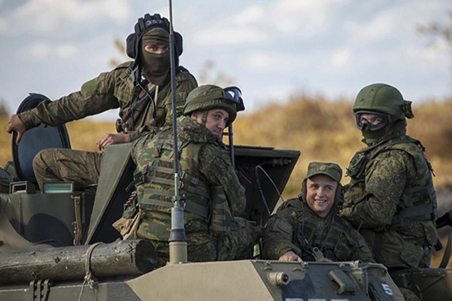 Товарищи по оружию. Совместные учения подразделений ВС РФ и Республики  Беларусь