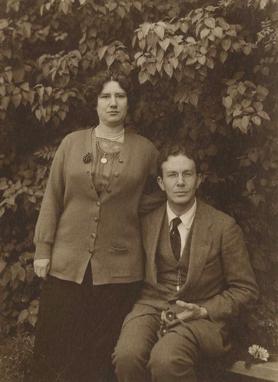 Андрей Николаевич Римский-Корсаков с женой Юлией Лазаревной Вейсберг