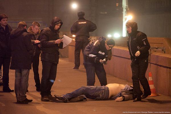 Борис Немцов убийство фото труп