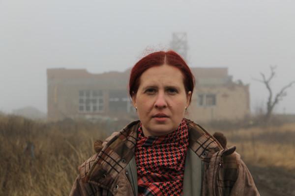 Наталья Макеева Донецкий аэропорт 2015 Донецк ДНР