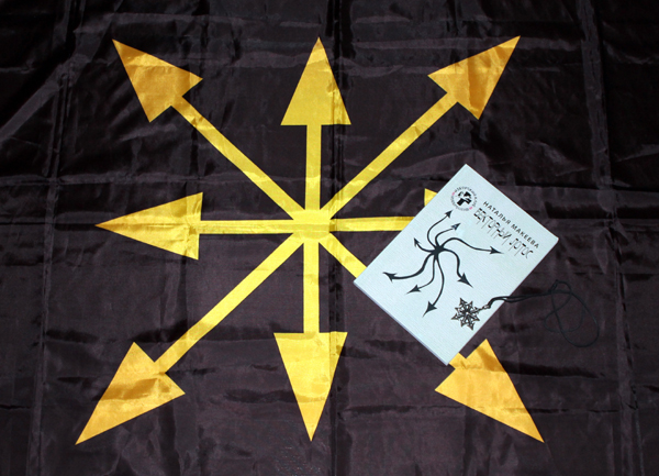 Наталья Макеева флаг Евразийского союза молодёжи ЕСМ Векторный лотос
