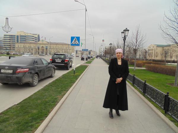 Наталья Макеева в Грозном