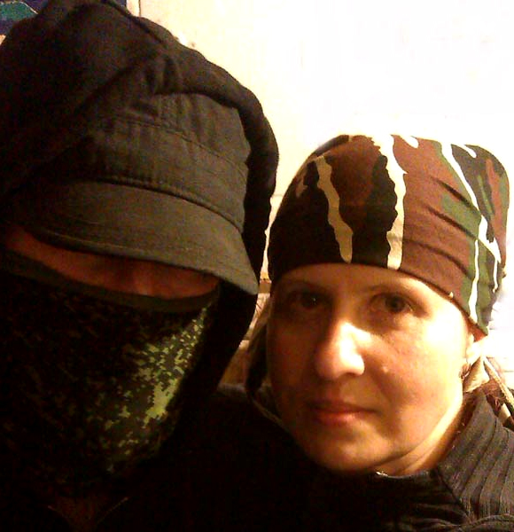 наталья макеева 2015 с очень серьезным человеком  донецк днр