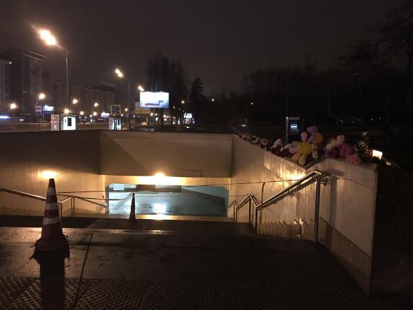 Славянский бульвар трагедия ДТП автобус переход метро переход фото
