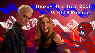 Spike & Buffy 4th of July Greetings