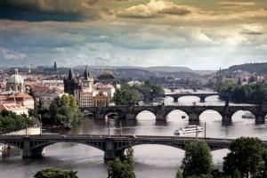 Фото мостов Праги