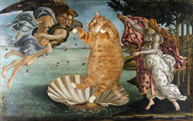 Botticelli-The-Birth-of-Venus-cat-sm1