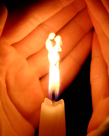 свеча любви