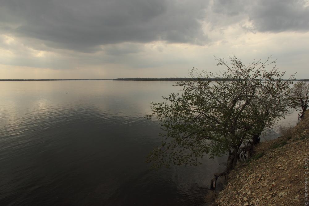 Волга Воскресенский р-н сар. обл. май 2013