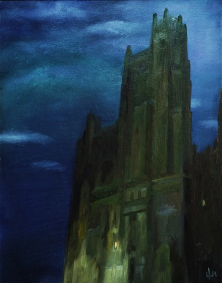 Тень города
